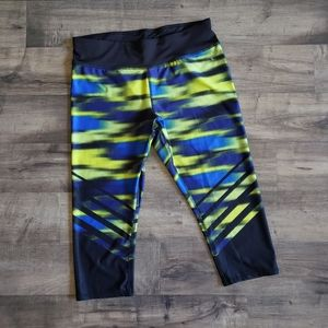 Danskin Now Fitted Multicolored Capris